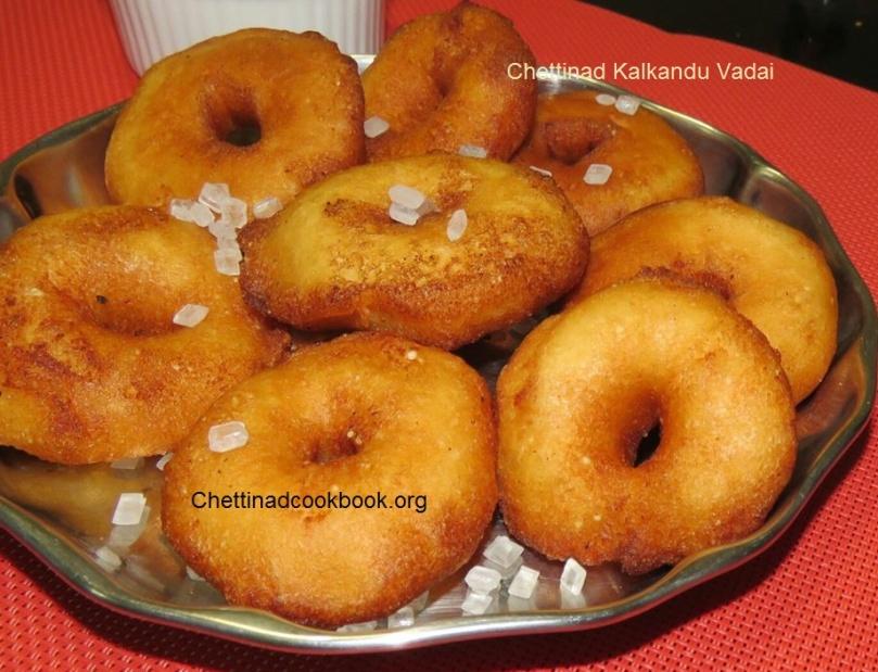 Chettinad Kalkandu vada