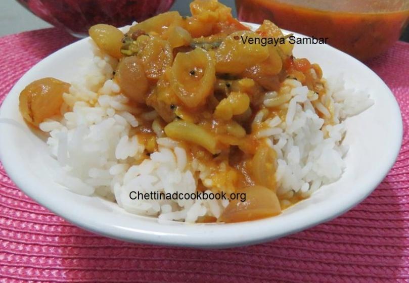 வெங்காய சாம்பார் / Pearl Onion Sambar