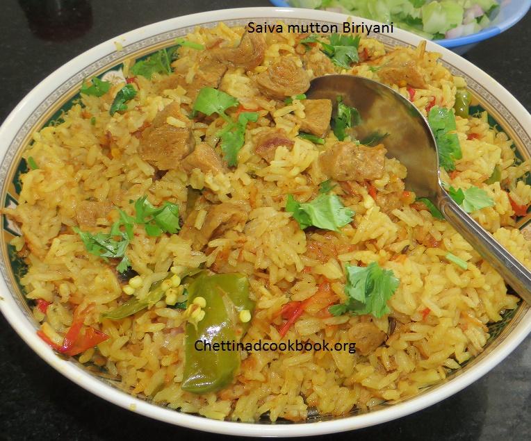 Saiva mutton Biryani