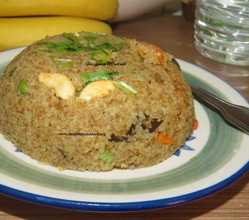கோதுமை பிரியாணி / Wheat Biryani